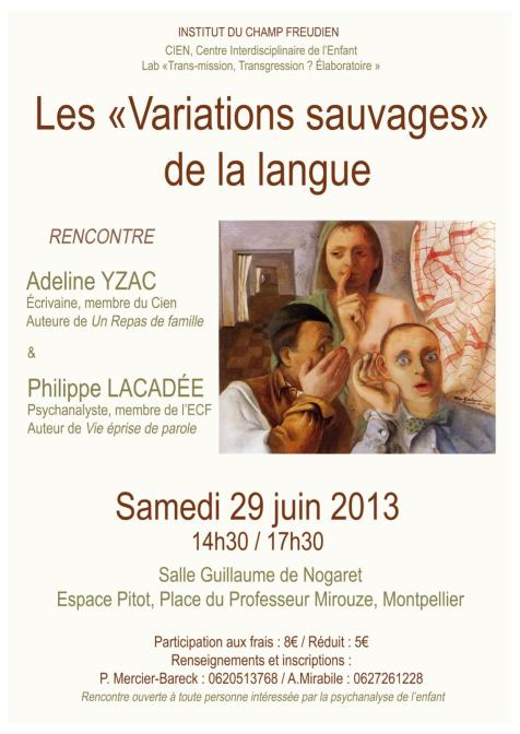 Affiche variation - copie
