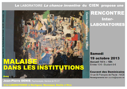 CIEN rencontre inter laboratoires