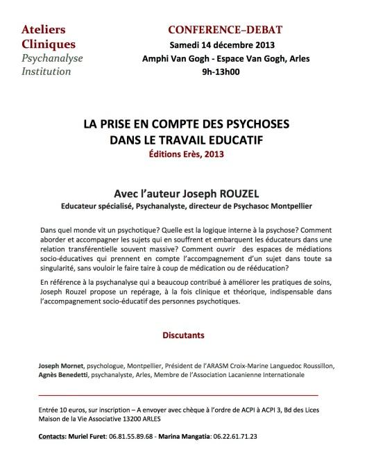 ACPI 14 decembre 2014