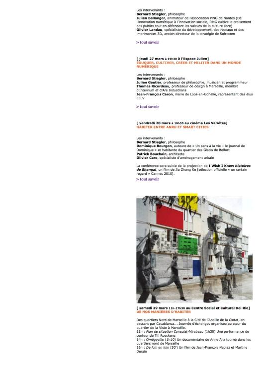 Biennale des écritures du réel p2