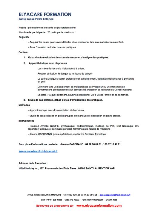 PDF Programme formation maltraitances à enfants 5 mars 2016 2