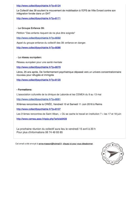 lettre du collectif des 39 avril 20162
