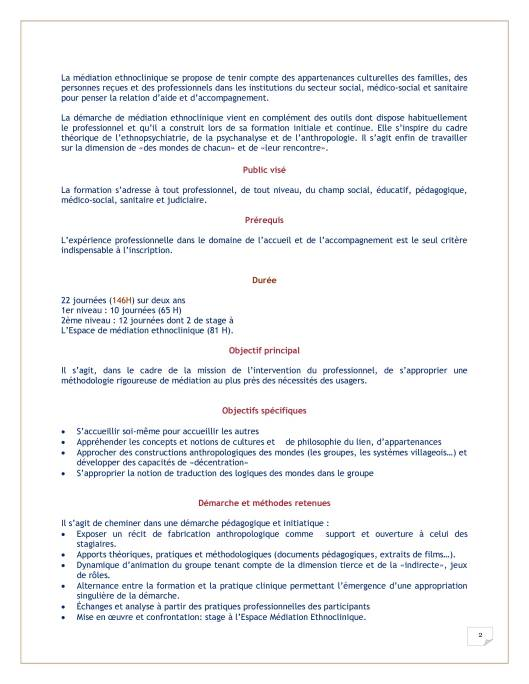 MED Plaquette formation 2017-2