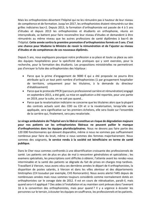 Orthophonistes du Cher reçues par le conseiller santé du 1er ministre-2.jpeg